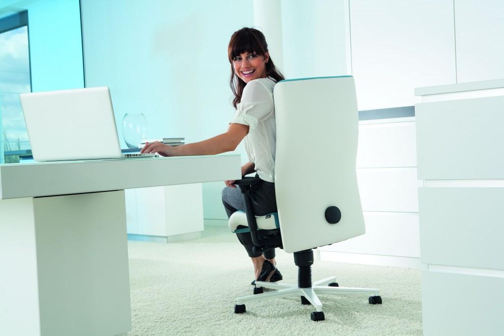 Nieuwe bureaustoel