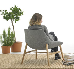 Inclass Loungestoel Dunas wood XL-2