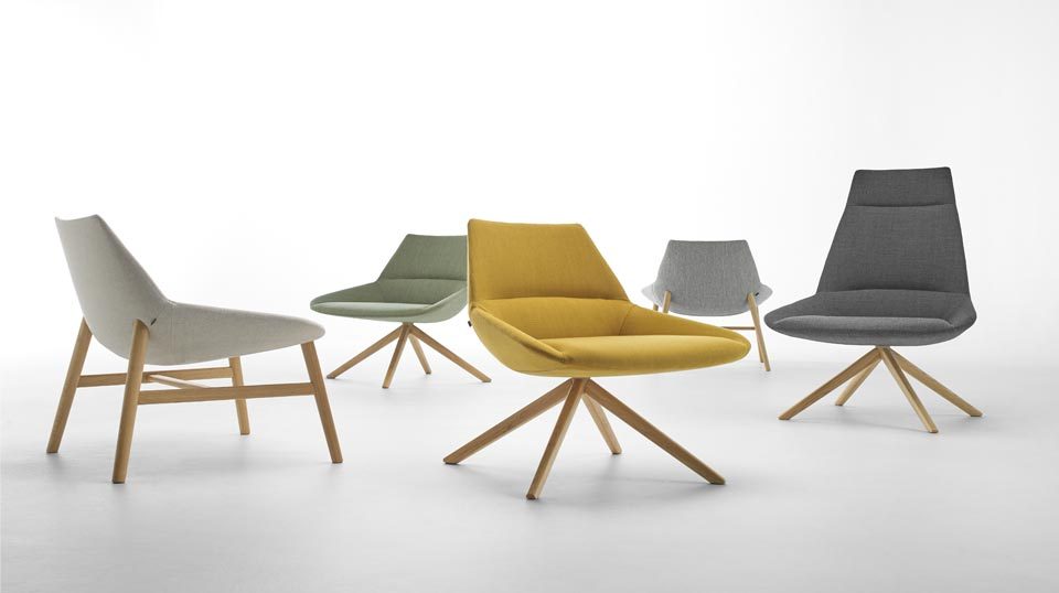 Inclass Loungestoel Dunas wood XL