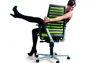 impuls-dynamische bureaustoel ergonomisch